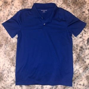 Boys collared shirt - Blue - Size Large (10/12)